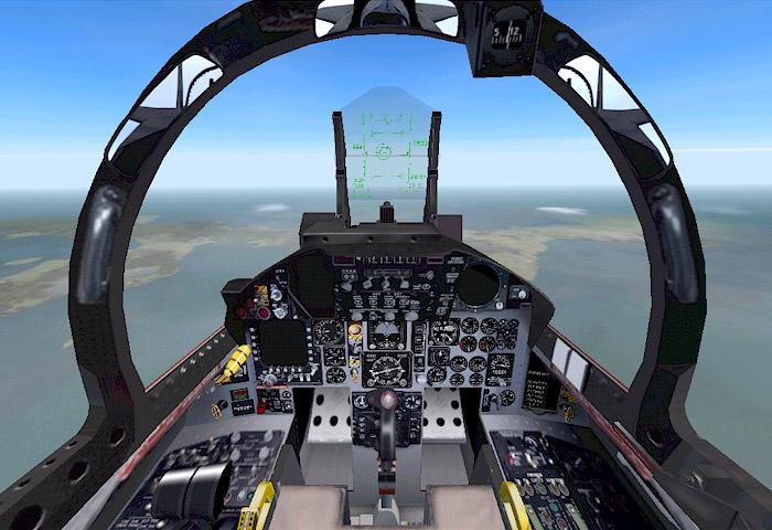 Coral-FLT = MSF... F 15 Cockpit