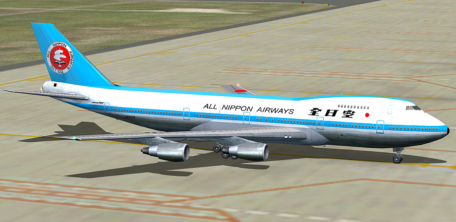 All Nippon Airways Livery